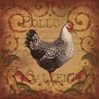 Pollo Caliente I Fine Art Print