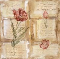 Rose Concerto IV Fine Art Print