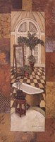 Spice Bath Panel I Fine Art Print