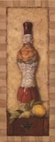 "Gourmet Delights II by Charlene Winter Olson - 4"" x 10"" - $10.49"