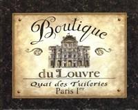 """Boutique de Louvre by Daphne Brissonnet - 10"""" x 8"""""""