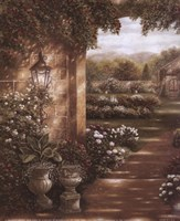 Evening in the Conservatory Fine Art Print