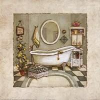 Garden Bath I Fine Art Print