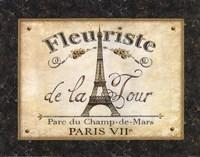 """Fleuriste de la Tour by Daphne Brissonnet - 14"""" x 11"""""""
