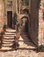 "Provence Arch II by Jerry Georgeff - 22"" x 28"""