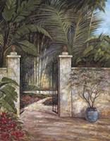 Tranquil Garden I Fine Art Print