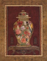 "Romantic Urn I by Charlene Winter Olson - 22"" x 28"""