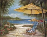 Relaxing Paradise II Fine Art Print