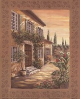 Provence Courtyard I Fine Art Print