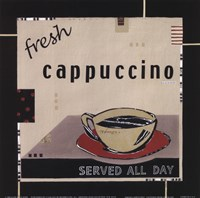 Fresh Cappuccino Framed Print
