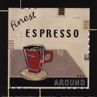 """Finest Espresso by Kate and Liz Pope - 9"""" x 9"""""""