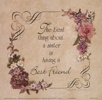 "My Best Friend by Charlene Winter Olson - 6"" x 6"", FulcrumGallery.com brand"