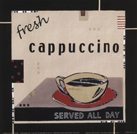 """Fresh Cappuccino by Kate and Liz Pope - 6"""" x 6"""""""