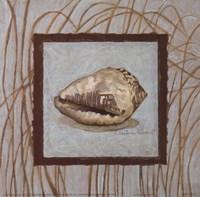 "Coastal Escape II by Charlene Winter Olson - 6"" x 6"""