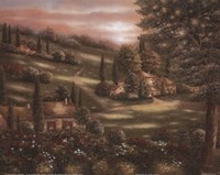 Evening in Tuscany I Fine Art Print