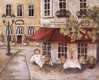 "Daytime Cafe II by Charlene Winter Olson - 10"" x 8"""