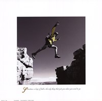 """Inspirational - Leap by Jim Wehtje - 12"""" x 12"""""""