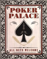 Poker Palace Fine Art Print
