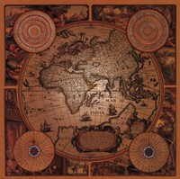 Map - Cartographica 1 Fine Art Print