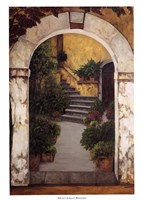 Entrada al Patio Fine Art Print
