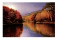 Autumn Afternoon Stillness Fine Art Print
