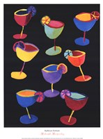 Midnight Margaritas Fine Art Print