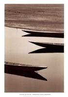 Fishing Boats, Desert of Mauritania Fine Art Print