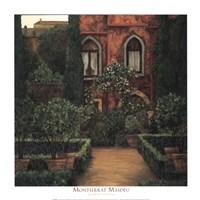 Jardin Verona Framed Print