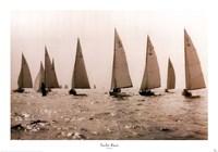 Yacht Race Fine Art Print