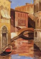 "Morning on the Canal I by Albena Hristova - 18"" x 24"""
