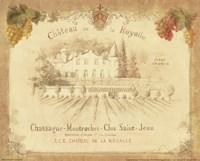 Chateau de la Royalle Fine Art Print