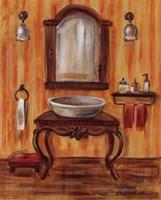 Tuscan Bath II Framed Print