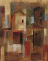 """Old Town Reminiscence I by Silvia Vassileva - 16"""" x 20"""""""