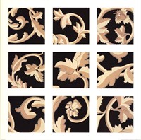 "Damask Panel by Wild Apple Studio - 27"" x 27"""