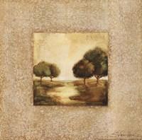 Golden Morning II Framed Print