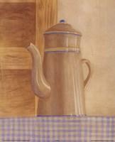 Tan Teapot Framed Print
