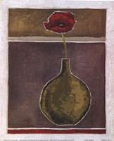 Poppy Pose II Fine Art Print