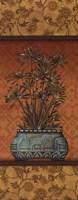 "Tropical Plants IV - mini by Charlene Audrey - 4"" x 10"""