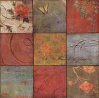 "Life is a Garden II - mini by Amy Melious - 12"" x 12"" - $9.99"