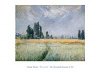 "Wheatfield, 1881 by Claude Monet, 1881 - 36"" x 26"""