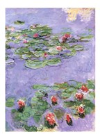 Water Lilies-1917 by Claude Monet, 1917 - various sizes