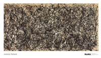 "One, Number 31 by Jackson Pollock - 68"" x 39"""