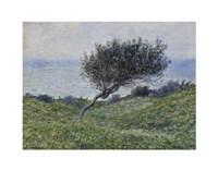 "Sea Coast at Trouville by Claude Monet - 14"" x 11"""