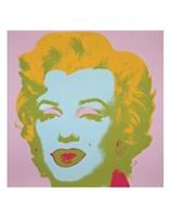 "Marilyn Monroe (pale pink), 1967 by Andy Warhol, 1967 - 11"" x 14"""