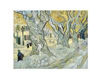 "The Road Menders, 1889 by Vincent Van Gogh, 1889 - 14"" x 11"""