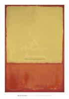 "The Ochre (Ochre, Red on Red), 1954 by Mark Rothko, 1954 - 30"" x 43"""