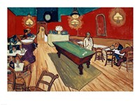 The Night Cafe in the Place Lamartine in Arles, c.1888 Fine Art Print