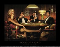 Four of a Kind Fine Art Print