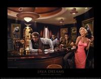 "Java Dreams by Chris Consani - 14"" x 11"""
