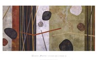 "Sticks and Stones III by Glenys Porter - 42"" x 26"" - $36.99"